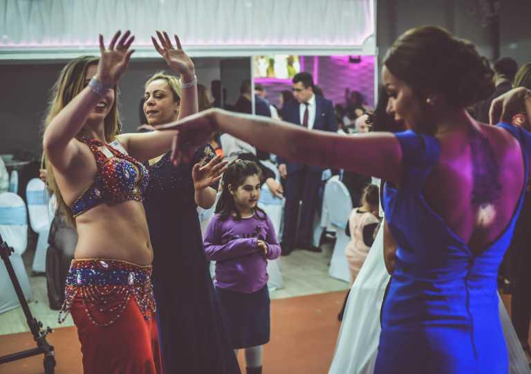 Turecká svadba Viedeň 2019